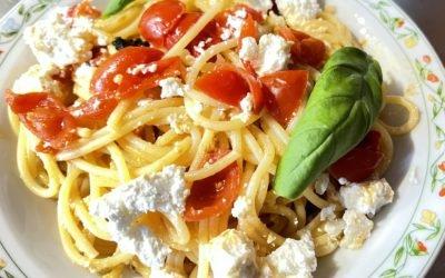 Spaghetti tricolore a km0